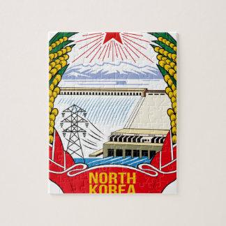 DPRK (North Korea) Emblem Jigsaw Puzzle