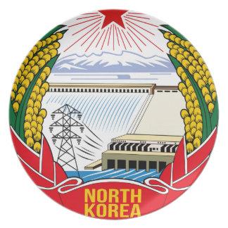 DPRK (North Korea) Emblem Plates