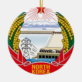 DPRK (North Korea) Emblem Round Ceramic Decoration