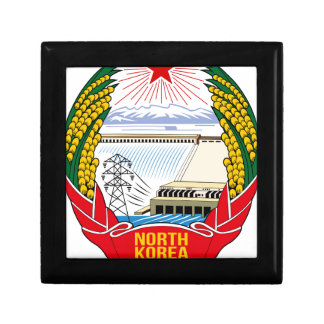 DPRK (North Korea) Emblem Small Square Gift Box