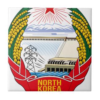 DPRK (North Korea) Emblem Small Square Tile