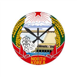 DPRK (North Korea) Emblem Wall Clocks