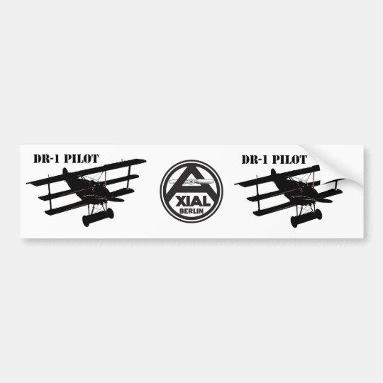 DR-1 Pilot Bumper Sticker
