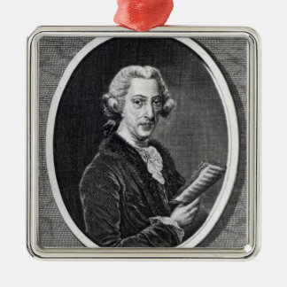 Dr. Arne, engraved for 'The Universal Silver-Colored Square Decoration