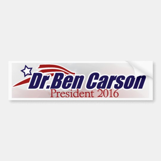 Dr. Ben Carson for President Bumper Sticker