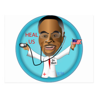 Dr. Ben Heal US Postcard