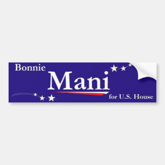 Dr. Bonnie Mani Bumper Sticker