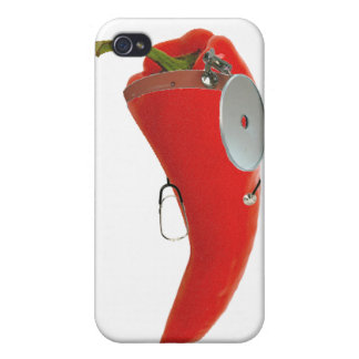 Dr. Chili Pepper, MD Case For iPhone 4