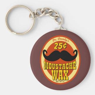 Dr Dandy s Moustache Wax Key Chain