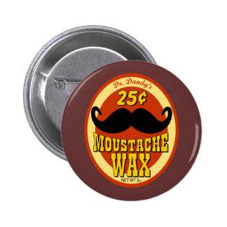 Dr. Dandy's Moustache Wax Pin