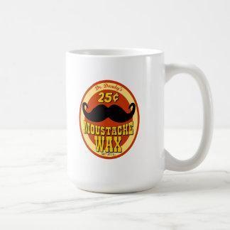 Dr. Dandy's Moustache Wax Basic White Mug