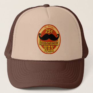 Dr. Dandy's Moustache Wax Trucker Hat