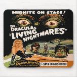 Dr Dracula's Living Nightmares Mousepad