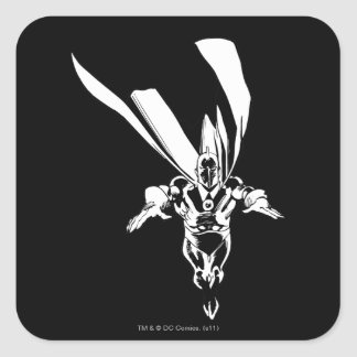 Dr. Fate Flying Outline Square Sticker