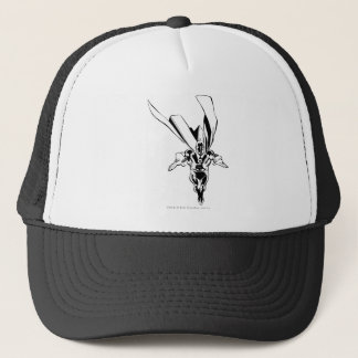 Dr. Fate Flying Outline Trucker Hat