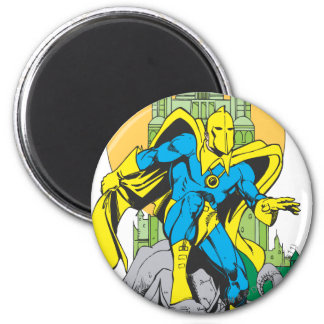 Dr. Fate & Invisible Tower 6 Cm Round Magnet