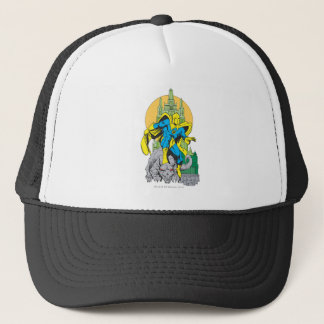 Dr. Fate & Invisible Tower Trucker Hat
