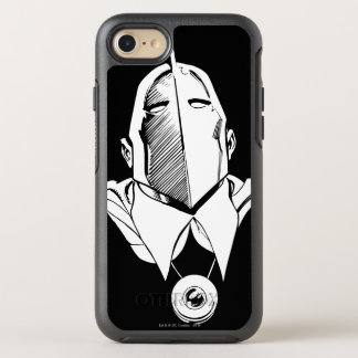 Dr. Fate Mask Outline OtterBox Symmetry iPhone 7 Case