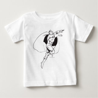 Dr. Fate Soaring Outline Baby T-Shirt
