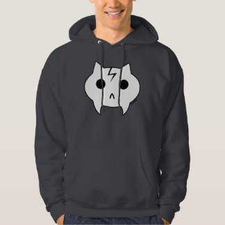 Dr. Frankenkitty Dark Grey Hooded Sweatshirt