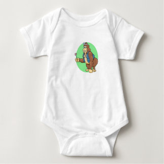 Dr Grow by John Nelson Baby Bodysuit