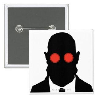 Dr. Hugo Strange Silo 15 Cm Square Badge