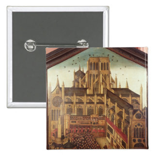 Dr. J. King's Sermon at St. Pauls Cathedral 15 Cm Square Badge