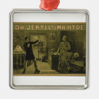 Dr. Jekyll and Mr. Hyde Theatrical Poster 1880 Christmas Ornament
