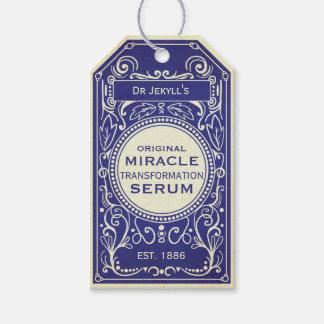 Dr Jekyll blue vintage potion label