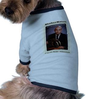 Dr Karl Shuker and Smilodon Skull - ShukerNature Dog Tshirt