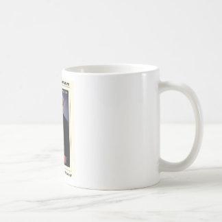 Dr Karl Shuker and Smilodon Skull - ShukerNature Coffee Mugs