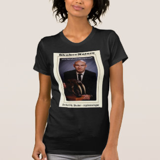 Dr Karl Shuker and Smilodon Skull - ShukerNature T-shirt
