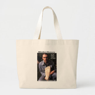 Dr Karl Shuker & bigfoot print cast - ShukerNature Tote Bag