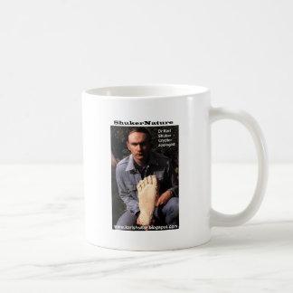 Dr Karl Shuker & bigfoot print cast - ShukerNature Mug