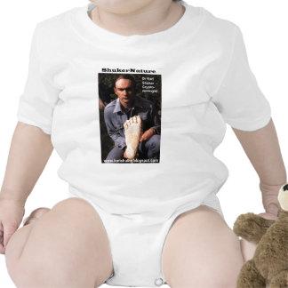 Dr Karl Shuker & bigfoot print cast - ShukerNature Baby Creeper
