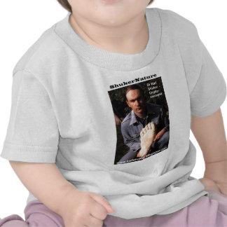 Dr Karl Shuker & bigfoot print cast - ShukerNature Tee Shirt