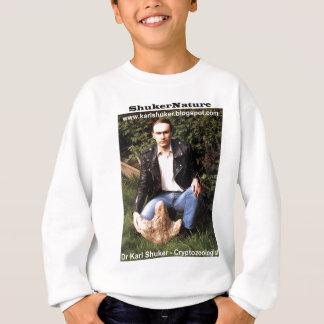 Dr Karl Shuker & dinosaur footprint - ShukerNature Sweatshirt