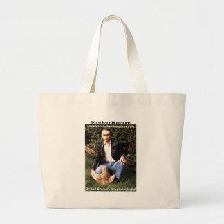 Dr Karl Shuker & dinosaur footprint - ShukerNature Bag