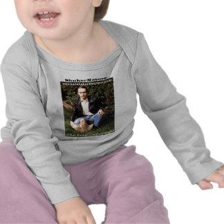 Dr Karl Shuker & dinosaur footprint - ShukerNature T-shirts