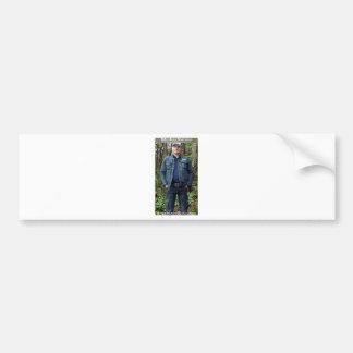 Dr Karl Shuker on Cannock Chase - ShukerNature Bumper Sticker