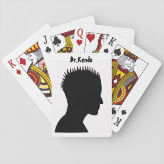 Dr.Kendo Commentaries Playing Cards