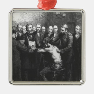 Dr Koch's Treatment for Consumption Silver-Colored Square Decoration