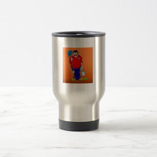 Dr. Mortose Commands Bob the minion travel mug