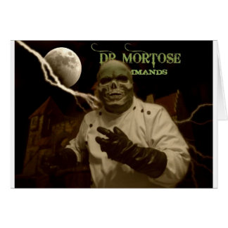 Dr. Mortose Commands sepia title card