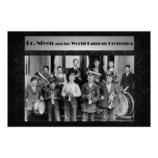 Dr. Niven and his World Famous Orch.36 x 24 Poster