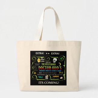 Dr. Odd's Spook Show Teaser Art Jumbo Tote Bag