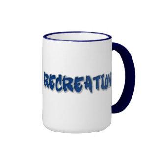 DR of Recreation Ringer Mug
