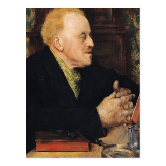 Dr. Paul Gachet  1891 Postcard