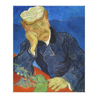 Dr Paul Gachet by Vincent van Gogh 2nd Version Stretched Canvas Prints