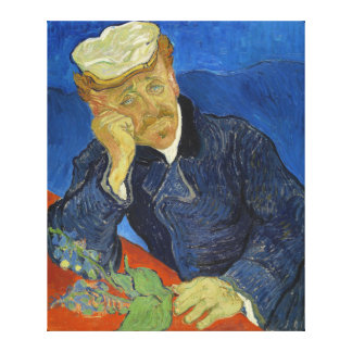 Dr Paul Gachet by Vincent van Gogh 2nd Version Gallery Wrapped Canvas